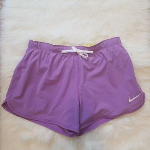 Nike Dri-Fit Purple Athletic Shorts